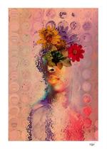 """Distant Spring Dreams"" Digital Art. Digital Painted Photography. Mixed media. Contemporary Art."
