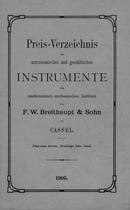 F.W. BREITHAUPT & SOHN, 1905.