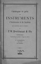F.W. BREITHAUPT & FILS, 1891.