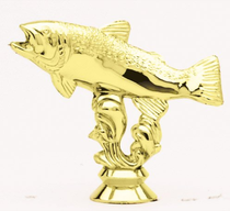 """TF113 - 4-1/2"""" Trout Figure"""