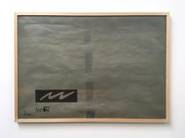 o.T., 2018 (Collage auf Papier, 70x100 cm)
