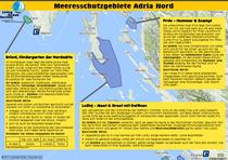 Schutzgebiete Nord Adria