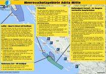 Schutzgebiete Mittel Adria