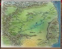 Ein erster Entwurf der Landkarte