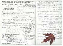 Ein kleiner Einblick in das Skizzenbuch von Farina de Waard