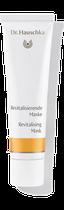 Die Revitalisierende Maske verleiht einen ebenmäßigen Teint. Für unreine, großporige, sonnenstrapazierte und zu Couperose neigende Haut ist sie eine ergänzende Intensivpflege.