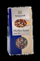 Der Pfeffer bunt vereint das beste aller Sorten in sich. Pfeffrige Schärfe, feine Frucht und süßliche Anklänge vereinigen sich zu einer facettenreichen Mischung. - 35g