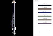 Einzigartigen Ausdruck formen: Der weiche Stift betont geschmeidig die individuelle Schönheit der Augen. Auf dem oberen und/oder unteren Lidrand auftragen und mit dem Applikator verwischen. Lässt sich auch auf dem inneren Lidrand auftragen.