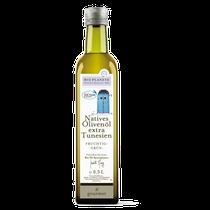 Ein temperamentvolles Öl mit feinen Geschmacksnoten von Pfeffer und grüner Tomate. Fruchtig und herb zugleich, passt es besonders gut zu Lauch, Zwiebeln und Artischocken. Zudem harmoniert die geschmacksvolle Cuvée sehr gut mit orientalischen Gerichten, Fi