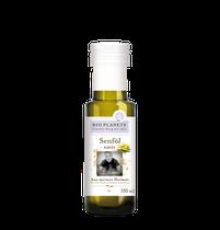 Senföl eignet sich mit seinem charakteristischen Geschmack und der milden Schärfe hervorragend zum Würzen und zum Verfeinern herzhafter Speisen und Saucen. Es sollte nicht erhitzt und nach dem Öffnen im Kühlschrank aufbewahrt werden.