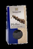Eine milde Pfeffernote und feine Fruchtnuancen sind im Duft der Körner erkennbar. Doch im Geschmack zeigt der schwarze Pfeffer was er kann. Die intensive Schärfe bietet verschiedenste Facetten von Pfeffer und Frucht. - 35g