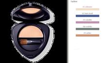 Augenleuchten: farbintensiver, glänzender Lidschatten — jedes Augen Make-up erstrahlt. Ausdrucksstarke Akzente: pur oder ergänzend zum Eyeshadow Trio.