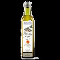 Ein charaktervolles Öl mit vielschichtigen Aromen und passt besonders gut zu Paprika, Knoblauch und rotem Fleisch. Das intensive und würzige Öl überrascht Ihren Gaumen mit feinen Geschmacksnoten von grünem Apfel und Mandel.