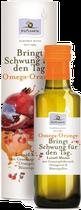 Omega Orange aus Leinöl, Granatapfelkernöl, Orangenöl und Blütenpollen, ist das perfekte Öl für den Morgen. Es ergänzt im Rahmen einer gesunden Lebensweise sowie einer abwechslungsreichen und gesundheitsbewussten Ernährung die kalte Küche.
