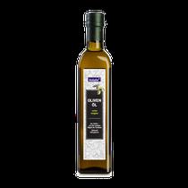 hochwertiges italienisches Olivenöl von goldgrüner Farbe und einem fruchtig milden Geschmack, kalt gepresst