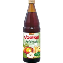 naturvergoren aus ganzen Demeter-Äpfeln, naturtrüb mit 5% Säure