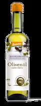 Mit seiner Note nach grünem Apfel ist das Demeter Olivenöl ideal für Gemüsesalate, Rohkost und herzhafte Aufläufe. - Rohkostqualität