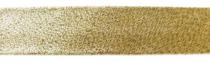 Schrägband Lurex 20mm Vorderseite gold