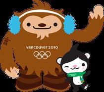 Quatchi et Miga, Vancouver 2010