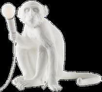 Lampe à poser MONKEY blanche, Seletti Design
