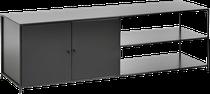 Meuble TV en métal noir, AM.PM chez La Redoute Intérieurs
