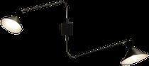Applique murale VOLTIGE à deux bras, en métal noir, La Redoute Intérieurs