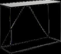 Console ROMY (petit modèle) en métal noir, La Redoute Intérieurs
