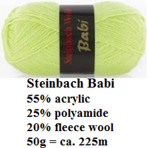 Steinbach Garn Babi