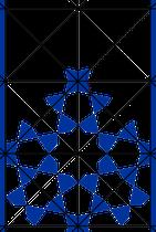 figuur 4 Symmetrie-assen
