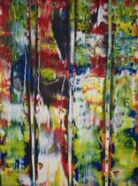 Untitled // 49 X 69 cm //  acryl on paper // #182  2019