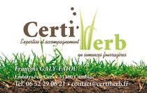 CertiHerb - Carte de visite