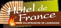Hôtel de France, Villefranche - Logo