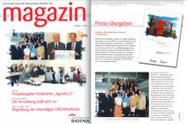 Kundenzeitschrift Bausparkasse Badenia vom 01.07.2000