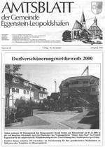 Amtsblatt Eggenstein-Leopoldshafen vom 10.11.2000
