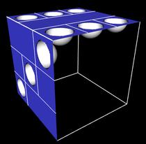 Modellierung eines 3D Spielwürfels, Augen als Vertiefungen - 2