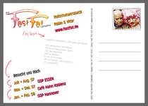 Robin Mehnert Postkarte 2008 / Design Goldtanne