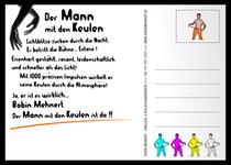 Robin Mehnert Postkarte 2009 / Design Goldtanne