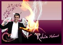 Robin Mehnert Postkarte 2011 / Design Goldtanne