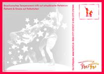 Robin Mehnert Postkarte 2010 / Design Goldtanne