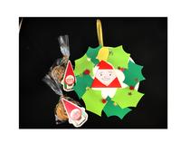 12月24日「クリスマスリース」&クッキーは生徒さんへお土産です
