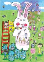 2018年度夏休みエコ絵画コンクールエコアイデア賞受賞生徒作品