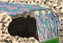 森と湖のある風景画コンクール銅賞作品