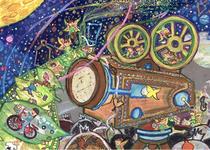 第13回夏休みエコ絵画コンクール千葉県教育長賞作品(生徒作品)