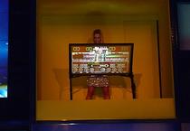 IFA 2012 | EURONICS | Sorgte auf dem Stand für ein ordentliches Soundgewitter : die 'Virtuosin' an einem sound table.