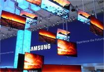 IFA 2012 | SAMSUNG | Über die gemeinsam mit 'Landsmann' LG entwickelte OLEG Bildschirm-Technologie versucht sich SAMSUNG als qualitativer Marktführer in der digitalen Bild-Technologie zu positinieren.a