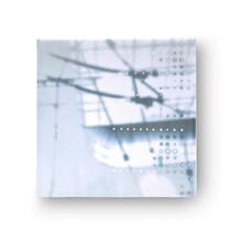 trägerfrequenz  19      2018, 30 × 30 cm