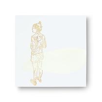 insel / langsam      2018, 135 × 135 cm