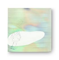 insel / mir schwebte     2018, 65 × 65 cm