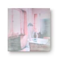 still ist es. jetzt /      2018, 70 × 70 cm
