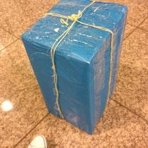 Paquete misterioso.... 11/06/2012